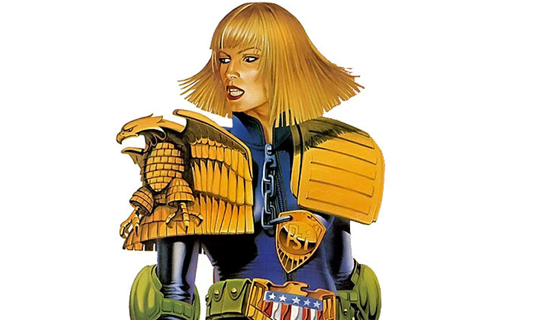 Judge Anderson is just one of many strong female characters that exist within the same totalitarian timeline as Dredd
